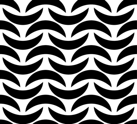 repeatable: Abstract seamless pattern with curved shapes. Repeatable