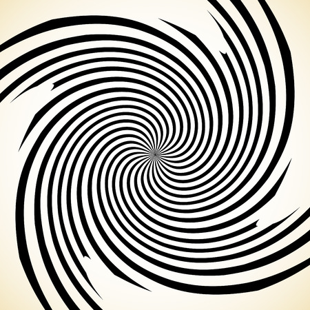 mesmerize: Abstract spiral graphic with spinning, rotating pattern