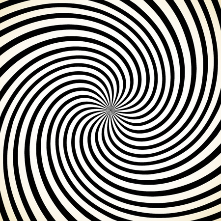 spinning: Abstract spiral graphic with spinning, rotating pattern