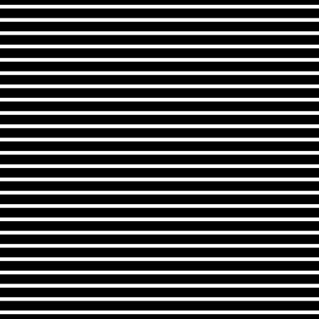 monocrome: Straight horizontal lines texture. Abstract black and white pattern. Illustration