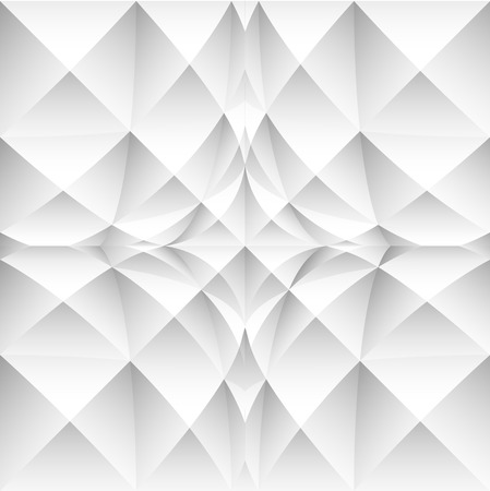 anomalous: Abstract background with 3d squares and strong distortion effect. Vector art.