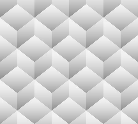 abstractionism: 3d cubes seamless, repeatable pattern. Vector art. Vectores