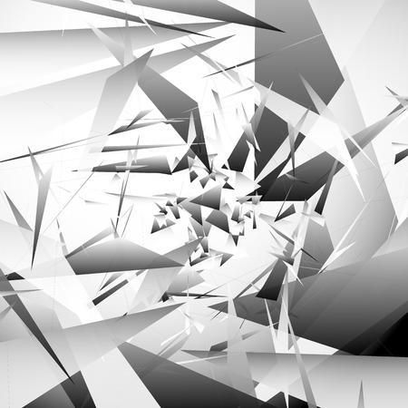 angular: Abstract background with random, angular shapes. vector art