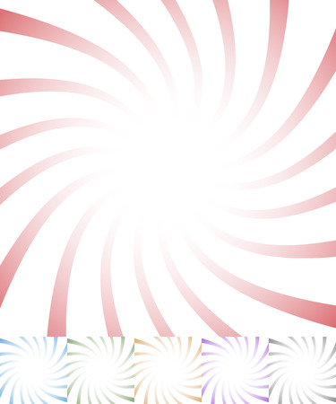 twisting: Twisting starburst, sunbrust abstract pattern. vector. Illustration