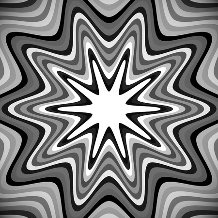 centric: Abstract background with zigzag shape. Vector background.