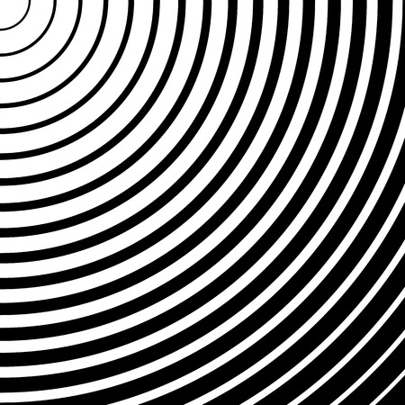 abstractionism: Abstract monochrome graphic with circular, circle pattern.