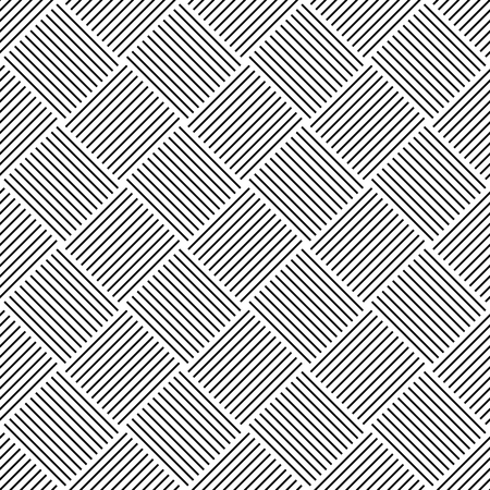 alternating: Seamless pattern with lined alternating squares. Vector art.