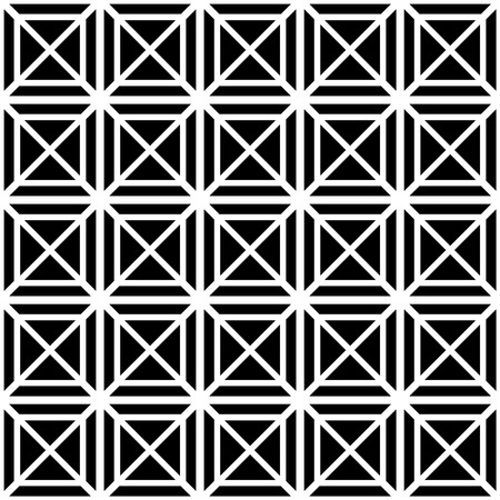 contrasty: Contrasty seamless pattern with squares. Vector art.