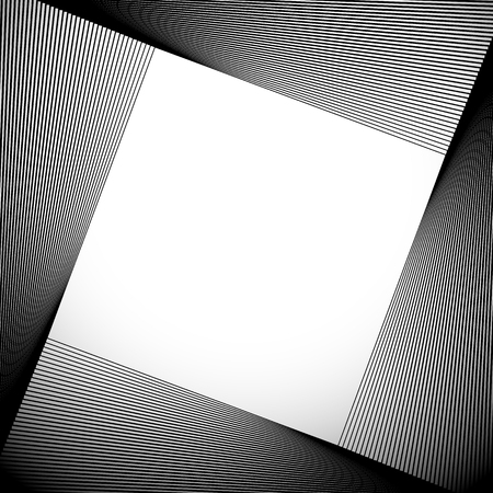 tilted: Abstract background with tilted squares blended. Vector art.