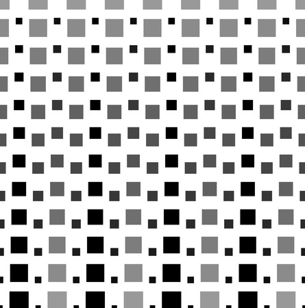 grayscale: Pattern, background with grayscale squares. Vector art. Illustration