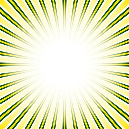 converging: Starburst, sunburst background. Converging, radial, radiating lines. Illustration