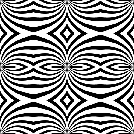 repeatable: Abstract monochrome vector pattern  background. Seamlessly repeatable. Vectores