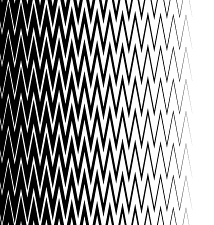 abstractionism: Edgy, pointed zigzag lines, jagged lines. Vertically seamless.
