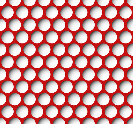 inset: Colorful dotted, polka dot background. Colored repeatable pattern with circles Illustration