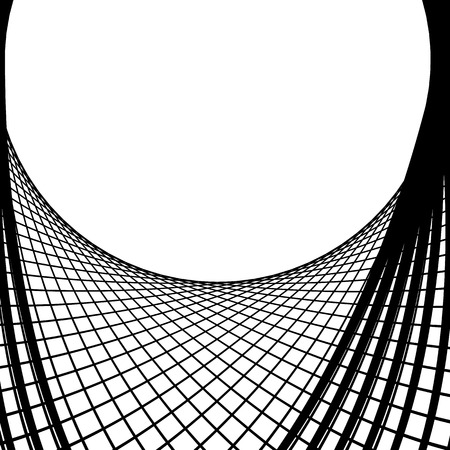 intersecting: Abstract grid, mesh background. Intersecting lines monochrome pattern. Web, net element.