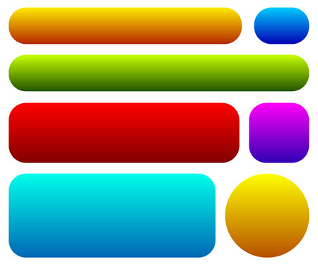 111,188 Colorful Button Stock Vector Illustration And Royalty Free ...