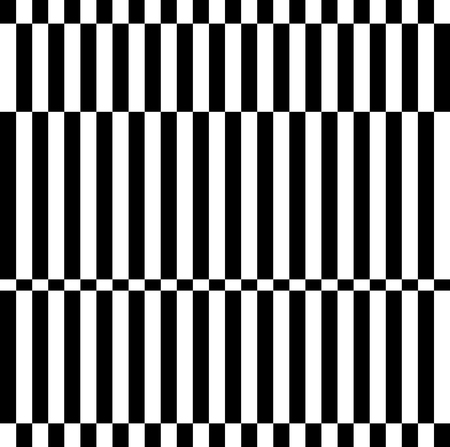 checkerboard backdrop: Checkered, irregular pattern. Abstract, monochrome vector texture. Illustration
