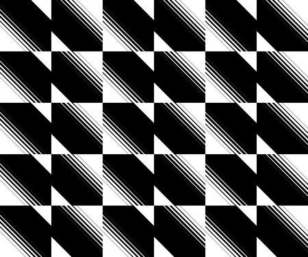 diagonal lines: Mosaic pattern with diagonal lines, stripes. Vector.