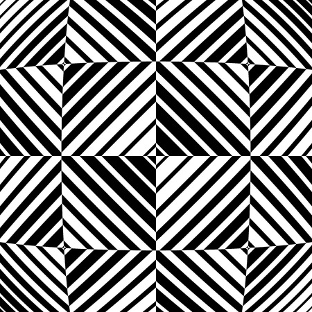 deformation: Abstract monochrome vector with distortion, deformation effect.