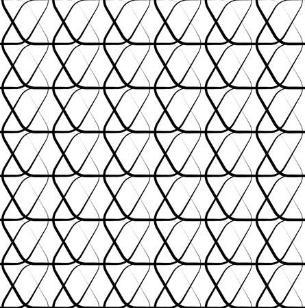 meshy: Meshy grid with intersecting lines. Cellular abstract grid, mesh background. Abstract lattice, grating, grille pattern. Monochrome vector texture.