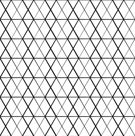 grating: Meshy grid with intersecting lines. Cellular abstract grid, mesh background. Abstract lattice, grating, grille pattern. Monochrome vector texture.
