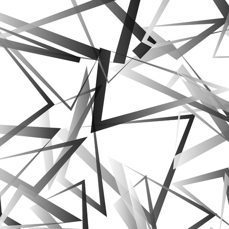 scattered: Abstract vector with scattered, angular edgy shapes.