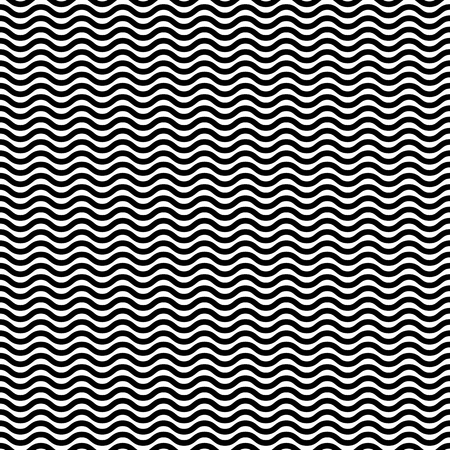 jagged: Wavy, zig zag, jagged lines. Repeatable monochrome pattern. Illustration