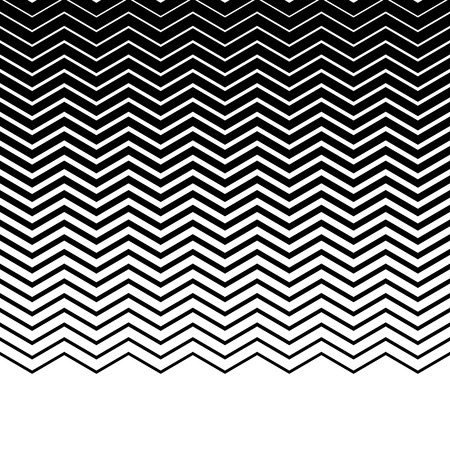 jagged: Wavy, zigzag, jagged lines. Horizontally repeatable monochrome pattern.