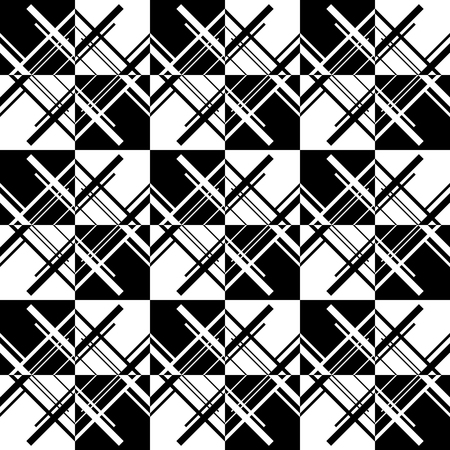 astract: Abstract monochrome pattern, minimal geometric background. Seamlessly repeatable.