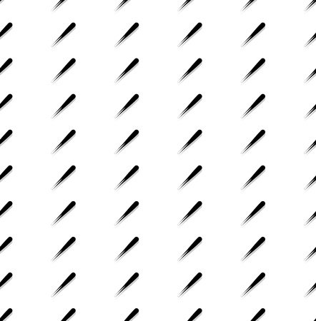 abstractionism: Repeatable pattern with rectangular square shapes. Monochrome abstract background