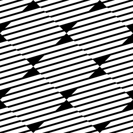 repeatable texture: Seamless, repeatable geometric pattern with diagonal lines. Monochrome texture.