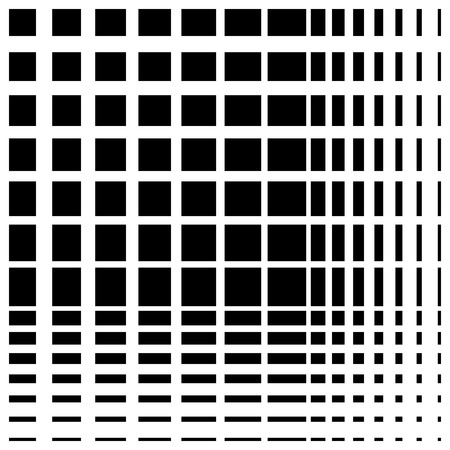grillage: Grid mesh seamless pattern. Abstract monochrome vector background