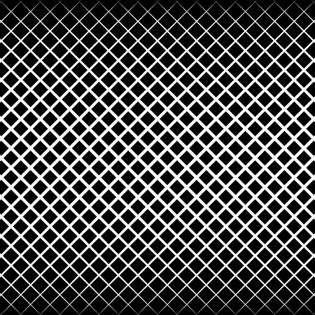 grillage: Abstract grid, mesh black and white pattern. vector