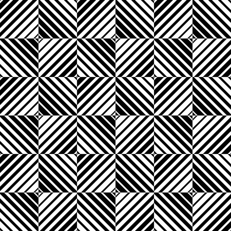 blocky: Abstract monochrome pattern with squares. Seamlessly repeatable.