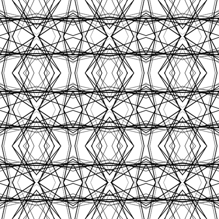 repeatable: Abstract pattern with random lines. Seamlessly repeatable. Illustration