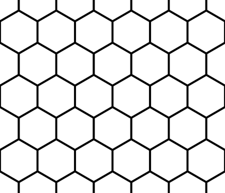 Seamless monochrome pattern, background with octagon shapes. Фото со стока - 51199157