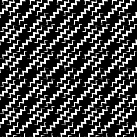 repeatable: Monochrome, seamlessly repeatable pattern, abstract black and white background. Vector.