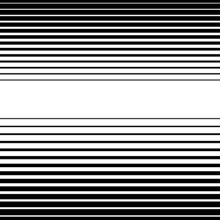 Straight, horizontal lines pattern. Vector art.