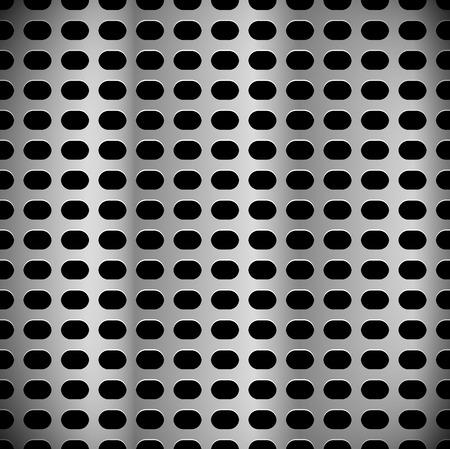 metal sheet: Metal sheet, surface pattern. Perforated, punched metal.