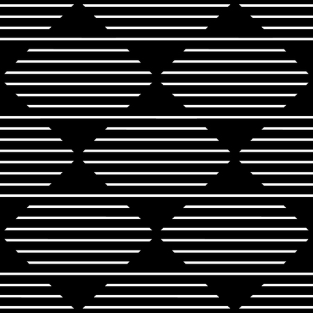 mapped: Repeatable monochrome pattern w horizontal, straight lines mapped in squares.