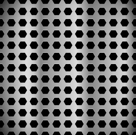 sheet metal: Metal sheet, surface pattern. Perforated, punched metal.