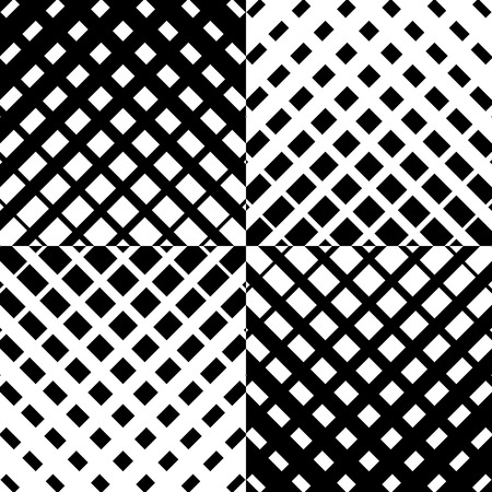 grille: Abstract grid mesh pattern with intersecting lines. Symmetric cellular repeatable, seamless pattern. Monochrome vector art. Grille, Lattice background. Illustration