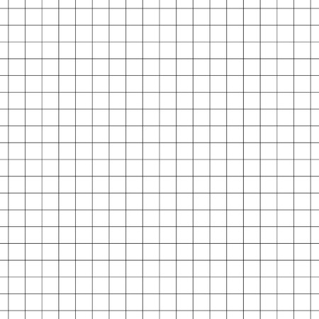 millimeter: Seamless grid, mesh pattern. millimeter, graph paper background. Squared texture. Repeatable