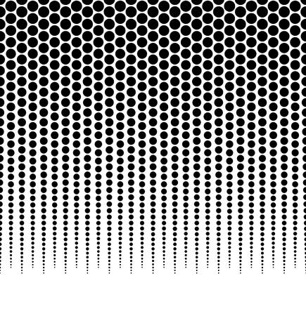 Demi-teintes, modèle vectoriel pointillé, fond. (Horizontalement transparente.) - Vector art, illustartion.