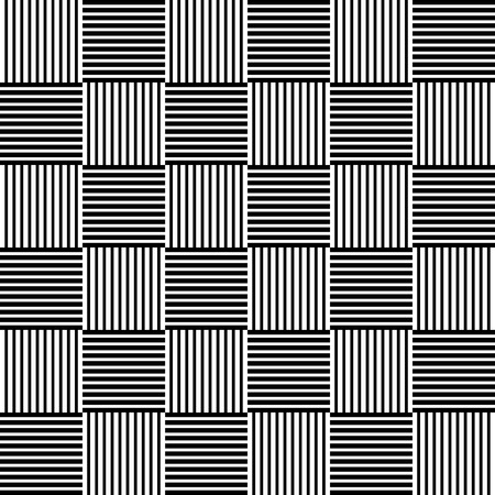 interlacing: Monochrome wicker like pattern with braided, interlacing lines. Abstract minimal black and white pattern. Seamlessly repeatable