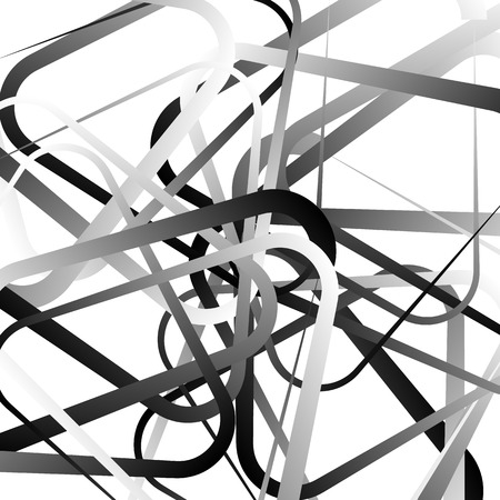 irregular shapes: Random, scattered shapes. Irregular pattern. Monochrome vector.
