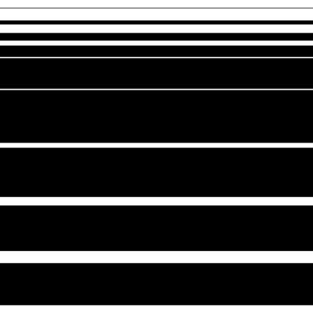 lineas horizontales: Recta, patrón de líneas horizontales. Arte del vector.