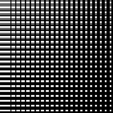 grillage: Abstract grid, mesh, grillage or lattice pattern. Abstract monochrome background with intersecting lines. Seamlessly repeatable.
