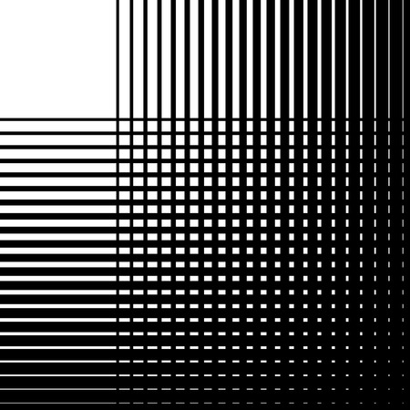 crisscross: Intersecting straight lines. Grid, mesh texture. Editable vector