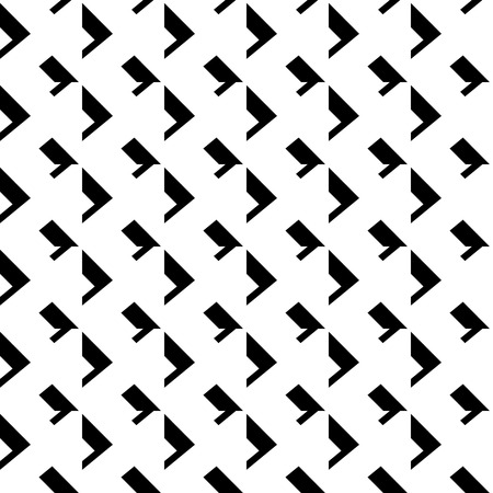 abstractionism: Abstract geometric mosaic pattern, simple seamless monochrome background.